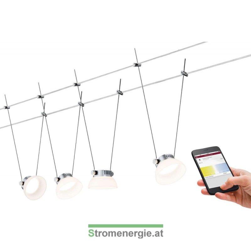 smarthome ble iceled wire system 4x4w chrom matt  wei u00df 230v  12v